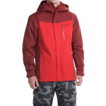 Mountain Hardwear Dragons Back Dry.Q® Core Ski Jacket - Waterproof, Insulated (For Men) in Smolder Red - Closeouts