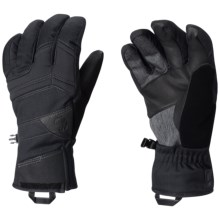 Mountain Hardwear Dragon's Back Gloves - Waterproof, Insulated (For Men) in Black - Closeouts