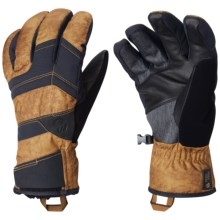 Mountain Hardwear Dragon's Back Gloves - Waterproof, Insulated (For Men) in Underbrush - Closeouts
