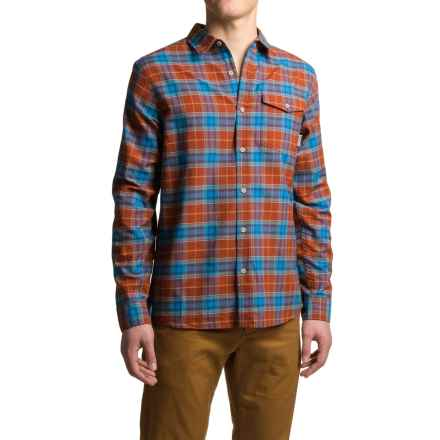 Mountain Hardwear Drummond Shirt - Long Sleeve (For Men) in Dark Copper - Closeouts