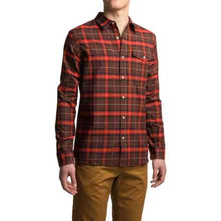 Mountain Hardwear Drummond Shirt - Long Sleeve (For Men) in Redwood - Closeouts