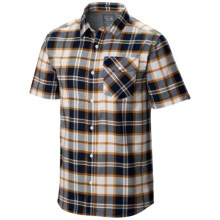 Mountain Hardwear Drummond Shirt - Short Sleeve (For Men) in Collegiate Navy - Closeouts