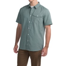 Mountain Hardwear Drummond Shirt - Short Sleeve (For Men) in Dark Forest - Closeouts