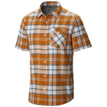 Mountain Hardwear Drummond Shirt - Short Sleeve (For Men) in Desert Gold - Closeouts