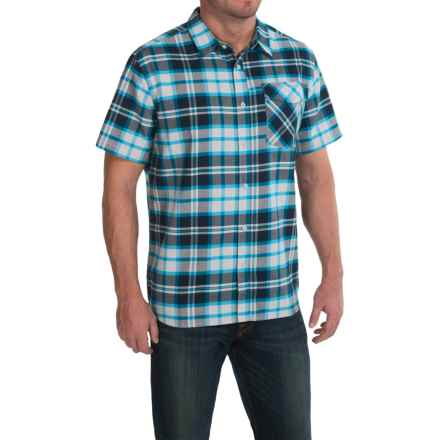 Mountain Hardwear Drummond Shirt - Short Sleeve (For Men) in Hardwear Navy - Closeouts