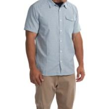 Mountain Hardwear Drummond Shirt - Short Sleeve (For Men) in Phoenix Blue - Closeouts
