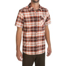 Mountain Hardwear Drummond Shirt - Short Sleeve (For Men) in Redwood - Closeouts