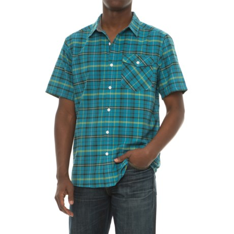Mountain Hardwear Drummond Shirt - Short Sleeve (For Men) in Shasta