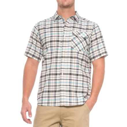 Mountain Hardwear Drummond Shirt - Short Sleeve (For Men) in Stone - Closeouts