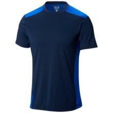 Mountain Hardwear DryHiker Justo T-Shirt - UPF 50, Short Sleeve (For Men) in Collegiate Navy/Azul - Closeouts