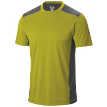 Mountain Hardwear DryHiker Justo T-Shirt - UPF 50, Short Sleeve (For Men) in Python Green - Closeouts