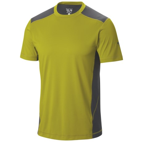 Mountain Hardwear DryHiker Justo T Shirt UPF 50, Short Sleeve (For Men)