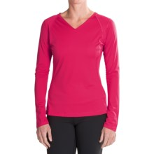 Mountain Hardwear DryHiker Tephra Shirt - UPF 50, Long Sleeve (For Women) in Bright Rose - Closeouts