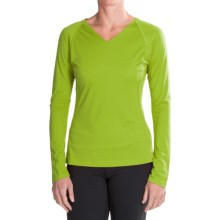 Mountain Hardwear DryHiker Tephra Shirt - UPF 50, Long Sleeve (For Women) in Fission - Closeouts