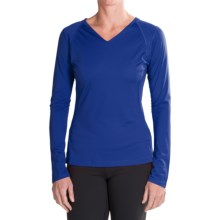 Mountain Hardwear DryHiker Tephra Shirt - UPF 50, Long Sleeve (For Women) in Nectar Blue - Closeouts