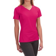 Mountain Hardwear DryHiker Tephra T-Shirt - UPF 50, Short Sleeve (For Women) in Bright Rose - Closeouts