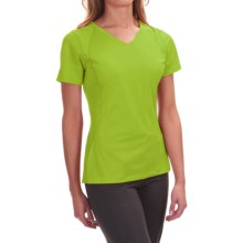 Mountain Hardwear DryHiker Tephra T-Shirt - UPF 50, Short Sleeve (For Women) in Fission - Closeouts