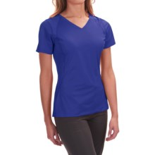 Mountain Hardwear DryHiker Tephra T-Shirt - UPF 50, Short Sleeve (For Women) in Nectar Blue - Closeouts