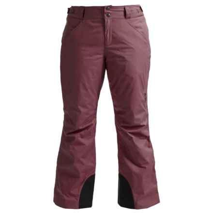 Mountain Hardwear Dry.Q® Core Returnia Ski Pants - Waterproof, Insulated (For Women) in Purple Plum - Closeouts