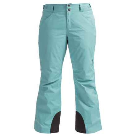 Mountain Hardwear Dry.Q® Core Returnia Ski Pants - Waterproof, Insulated (For Women) in Spruce Blue - Closeouts