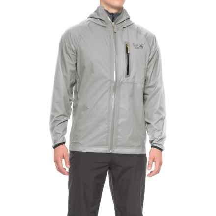 Mountain Hardwear Dry.Q® Core Supercharger Jacket - Waterproof (For Men) in Grey Ice - Closeouts