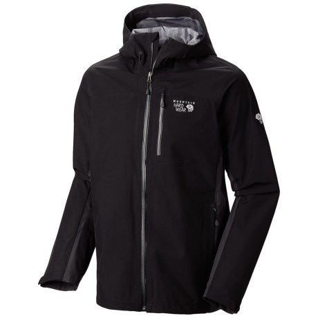 Mountain Hardwear Dry.Q Elite Chinley Jacket - Waterproof (For Men) in Collegiate Navy/Azul