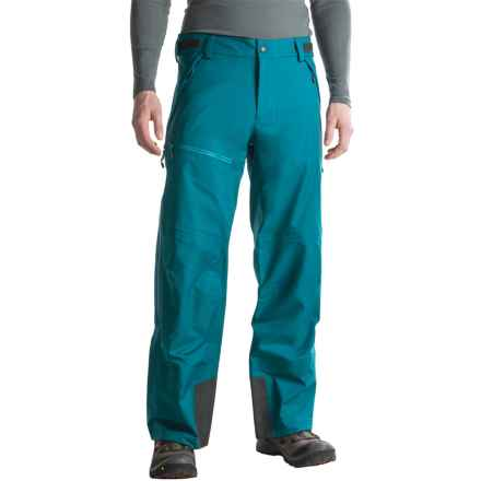 Mountain Hardwear Dry.Q ® Straight Chuter Pants - Waterproof (For Men) in Phoenix Blue - Closeouts