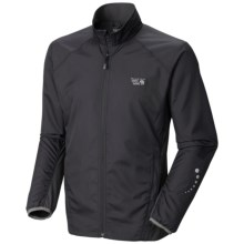Mountain Hardwear DryRunner Jacket (For Men) in Black - Closeouts