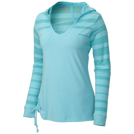 Mountain Hardwear DrySpun Burnout Hoodie UPF 25 (For Women)