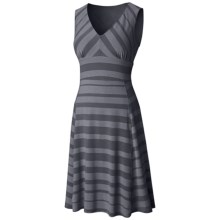 Mountain Hardwear DrySpun Burnout Stripe Dress - Reversible, UPF 25, Sleeveless (For Women) in Graphite - Closeouts