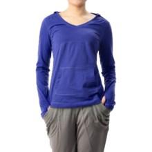 Mountain Hardwear DrySpun Hoodie (For Women) in Nectar Blue - Closeouts