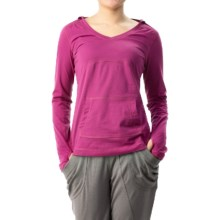 Mountain Hardwear DrySpun Hoodie (For Women) in Red Plum - Closeouts