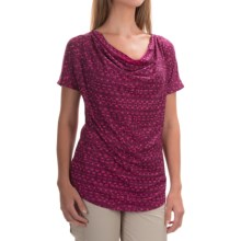 Mountain Hardwear DrySpun Perfect T-Shirt - UPF 25+, Short Sleeve (For Women) in Dark Raspberry - Closeouts