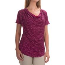Mountain Hardwear DrySpun Perfect T-Shirt - UPF 25+, Short Sleeve (For Women) in Dark Raspberry - Closeouts