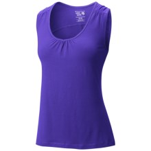 Mountain Hardwear DrySpun Tank Top - UPF 25 (For Women) in Nectar Blue - Closeouts