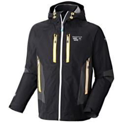 Mountain Hardwear Drystein II Dry.Q Elite Jacket - Waterproof (For Men) in Capris/Lagoon