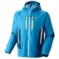 Mountain Hardwear Drystein II Dry.Q® Elite Jacket - Waterproof (For Men) in Capris/Lagoon