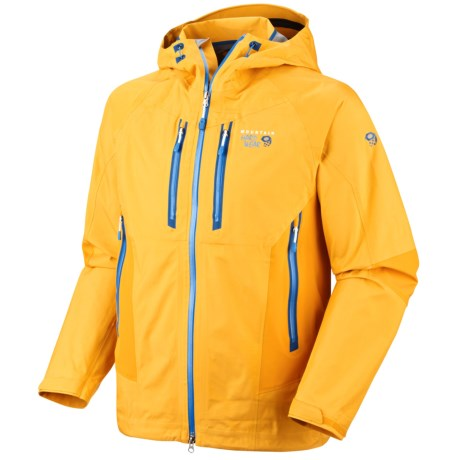 Mountain Hardwear Drystein II Dry.Q Elite Jacket - Waterproof (For Men) in Capris/Lagoon