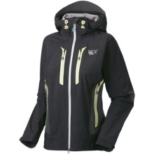 Mountain Hardwear Drystein II Dry.Q Elite Jacket - Waterproof (For Women) in Black/Shark - Closeouts