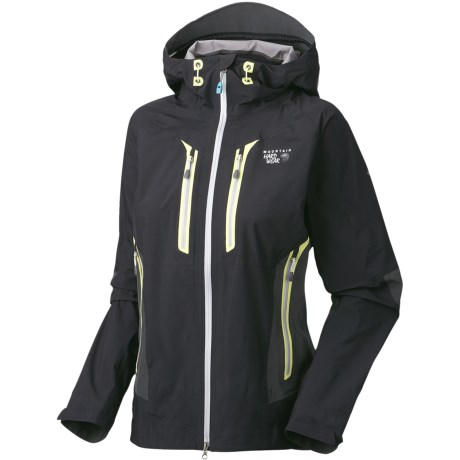 Mountain Hardwear Drystein II Dry.Q Elite Jacket - Waterproof (For Women) in Black/Shark