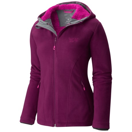 photo: Mountain Hardwear Dual Fleece Hooded Jacket