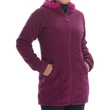 Mountain Hardwear Dual Fleece Hooded Parka (For Women) in Dark Raspberry - Closeouts