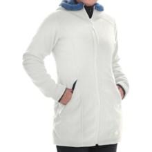 Mountain Hardwear Dual Fleece Hooded Parka (For Women) in Stone - Closeouts
