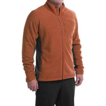 Mountain Hardwear Dual Fleece Jacket (For Men) in Dark Copper - Closeouts