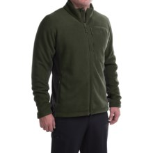 Mountain Hardwear Dual Fleece Jacket (For Men) in Greenscape/Shark - Closeouts