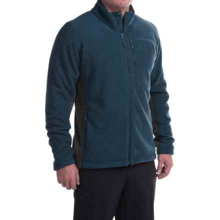 Mountain Hardwear Dual Fleece Jacket (For Men) in Hardwear Navy/Shark - Closeouts
