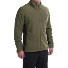Mountain Hardwear Dual Fleece Jacket (For Men) in Peatmoss/Shark - Closeouts