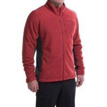 Mountain Hardwear Dual Fleece Jacket (For Men) in Smolder Red/Shark - Closeouts