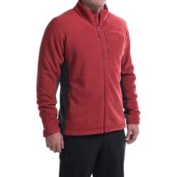 Mountain Hardwear Dual Fleece Jacket (For Men) in Smolder Red/Shark
