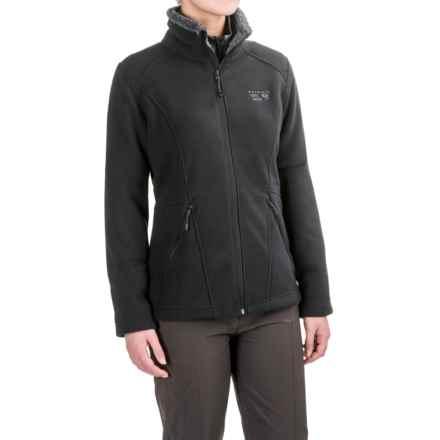 Mountain Hardwear Dual Fleece Jacket (For Women) in Black - Closeouts
